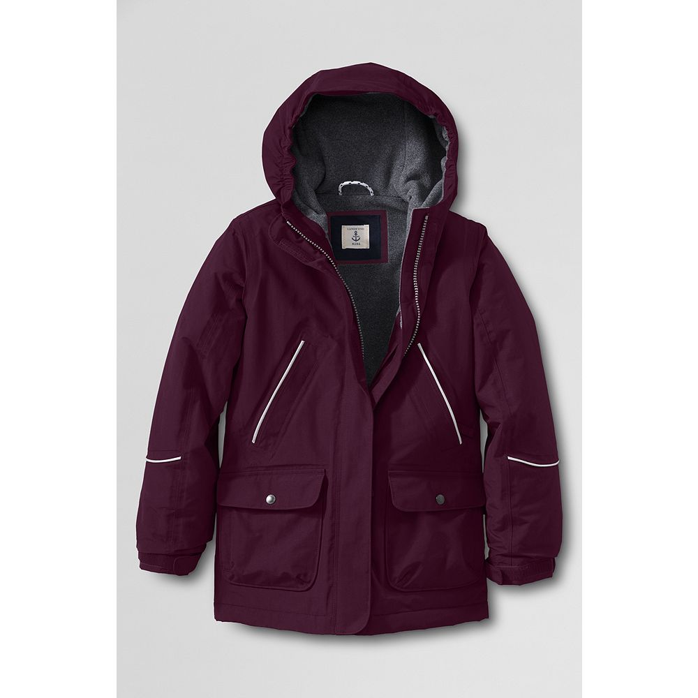 Lands' End School Uniform Girls' Squall Parka at Sears.com
