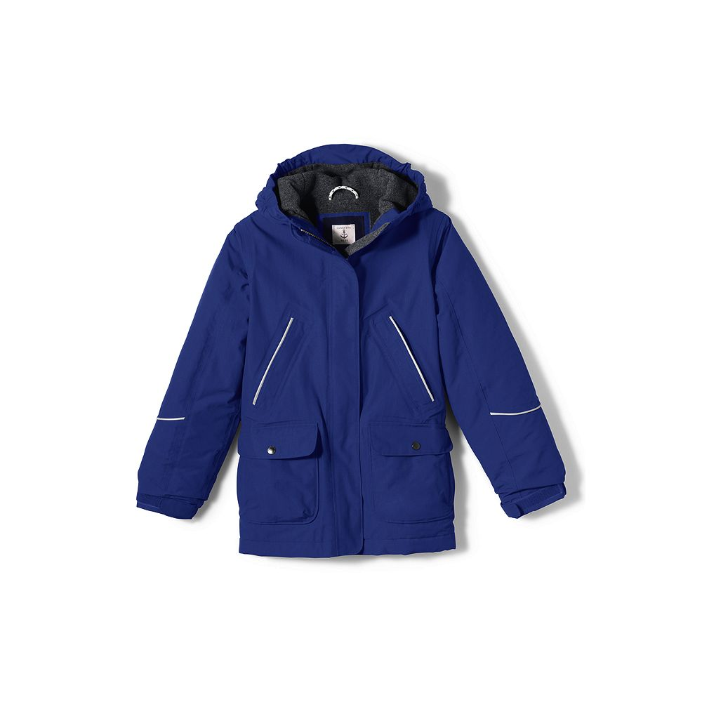 Lands' End School Uniform Little Girls' Squall Parka at Sears.com