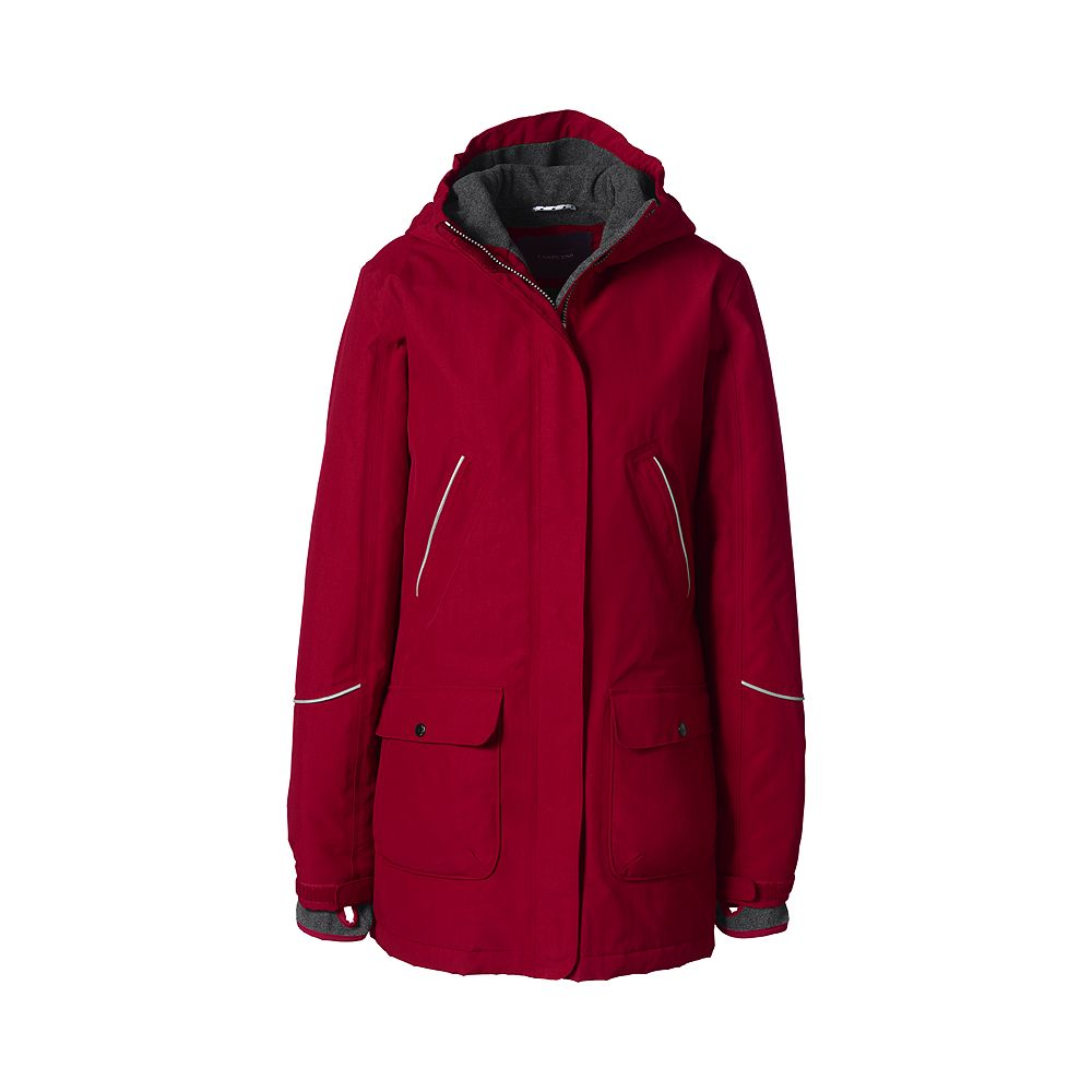 Lands' End School Uniform Women's Squall Parka at Sears.com
