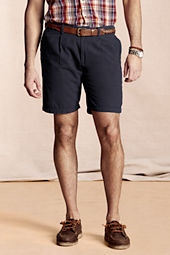 Men's Single Pleat Shorts
