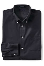 Men's Big and Tall Long Sleeve Buttondown No Iron Broadcloth Shirt
