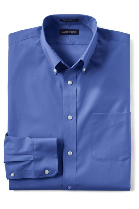 Men's Regular Long Sleeve Buttondown No Iron Broadcloth Shirt