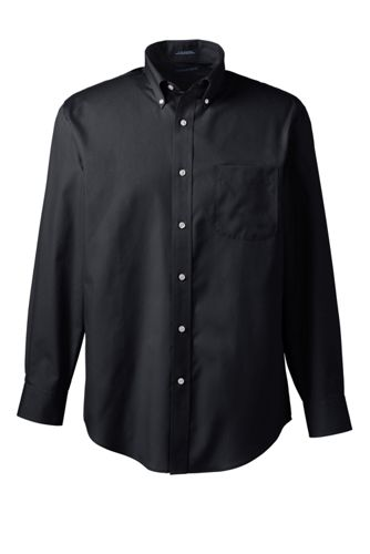 Men's Long Sleeve Buttondown No Iron Broadcloth Shirt