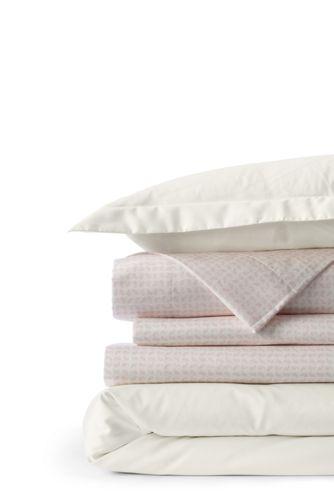 Bügelfreier Supima Bettdeckenbezug für zwei Personen Übergröße
