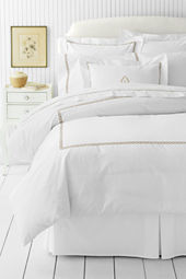 Tailored Hotel Sateen Embroidered Rope Duvet Cover or Sham