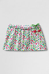 Girls' Side-Tie Ruffle Swimmini