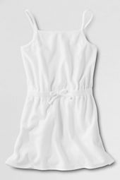 Girls' Terry Tank Cover-up
