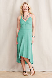 Women's French Terry Midi Tank Dress