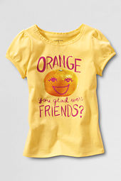 Little Girls' Scented Orange Friend Graphic T-shirt