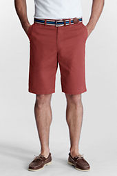 "Men's 11"" Plain Front Spring Chino Shorts"