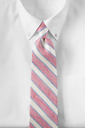 Men's Guarded Bar Stripe Necktie