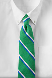 Men's Textured Silk Stripe Necktie