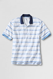 Men's Oxford Stripe Piqué Polo