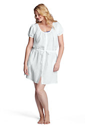 Women's Linen Cover-up Dress