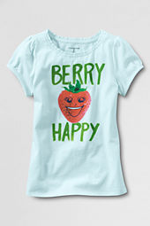 Little Girls' Scented Strawberry Graphic T-shirt