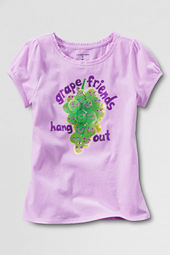 Little Girls' Scented Grape Graphic T-shirt