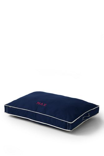 Rectangular Canvas Dog Bed Cover