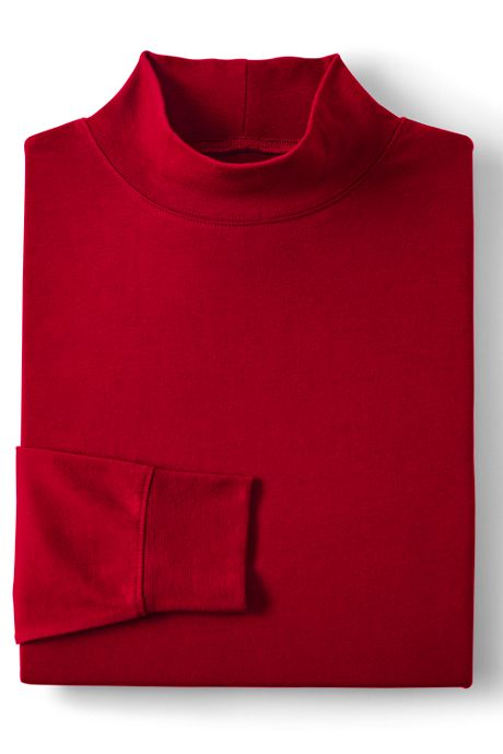 Men's Tall Super-T Mock Turtleneck