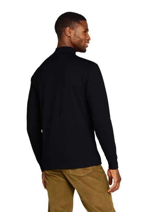 School Uniform Men's Super-T Mock Turtleneck