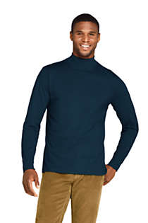 Men's Super-T Mock Turtleneck, Front