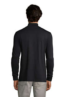 Men's Tall Super-T Mock Turtleneck, Back