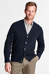 Men's Cashmere V-neck Cardigan Sweater