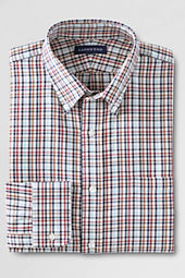Men's Pattern Tailored Fit Portuguese Twill Buttondown Dress Shirt