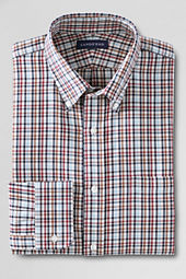 Men's Pattern Traditional Fit Portuguese Twill Buttondown Dress Shirt