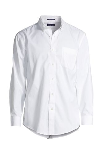 Men's Solid No Iron Supima Pinpoint Buttondown Collar from ... - photo #4