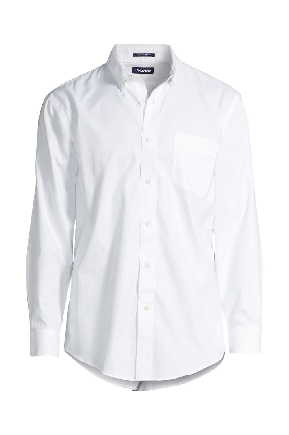 3b981e8b2aaed Men's Solid No Iron Supima Pinpoint Buttondown Collar Dress Shirt ...