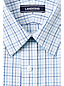 Men's Patterned Traditional Fit Straight Collar Easy-iron Pinpoint Shirt