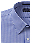 Men's Patterned Easy-iron Straight Collar Pinpoint Shirt