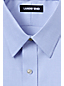 Men's Slim Fit Easy-iron Straight Collar Pinpoint Shirt