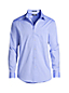 Men's Regular Tailored Fit Easy-iron Straight Collar Pinpoint Shirt