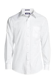 MODERN FIT. Klassik-Kragen. Bügelleichtes Pinpointhemd