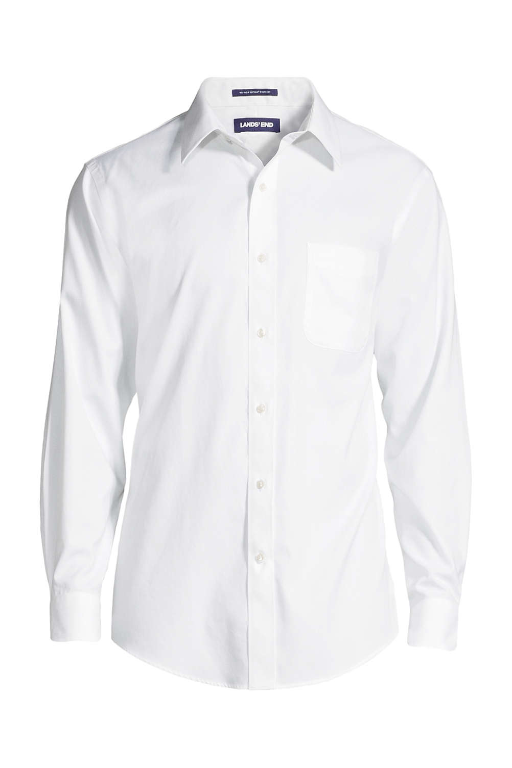 bfe5ed9cb553 Men's Big & Tall Traditional Fit Solid No Iron Supima Pinpoint Straight  Collar Dress Shirt. 4.3. Rated 4.27 out of ...