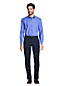 Men's Regular Straight Collar Easy-iron Pinpoint Shirt