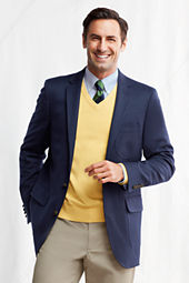 Men's Tailored Fit Doeskin Blazer