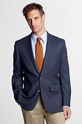 Men's Traditional Fit Doeskin Blazer