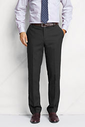 Men's Plain Front Tailored Fit SuperNatural™ Wool Trousers