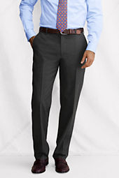 Men's Plain Front Traditional Fit SuperNatural™ Wool Dress Pants
