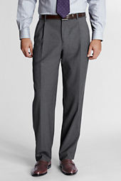 Men's Pleat Front Traditional Fit SuperNatural™ Wool Dress Pants