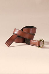Men's Reversible O-Ring Belt