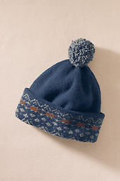 Men's Lambswool Fair Isle Hat