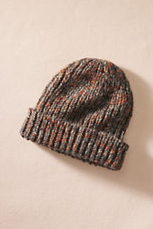 Rib Knit Wool Hat