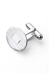 Men's Engine Turn Cufflinks