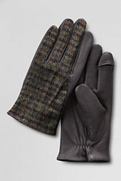 Men's Tweed Inset Gloves