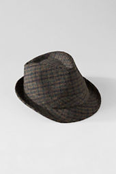Men's Harris Tweed Fedora