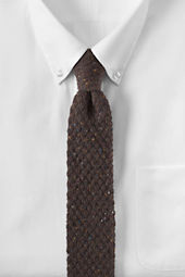 Men's Knit Donegal Necktie