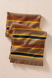 Lambswool Striped Scarf
